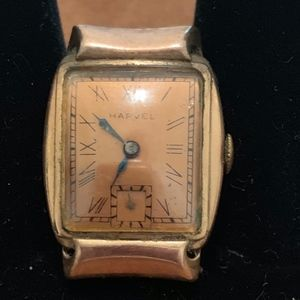 Harvel 1940s Rose Gold Watch not working